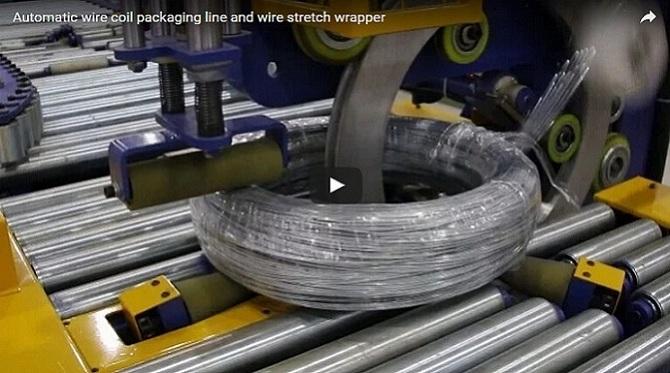 钢丝缠绕包装线